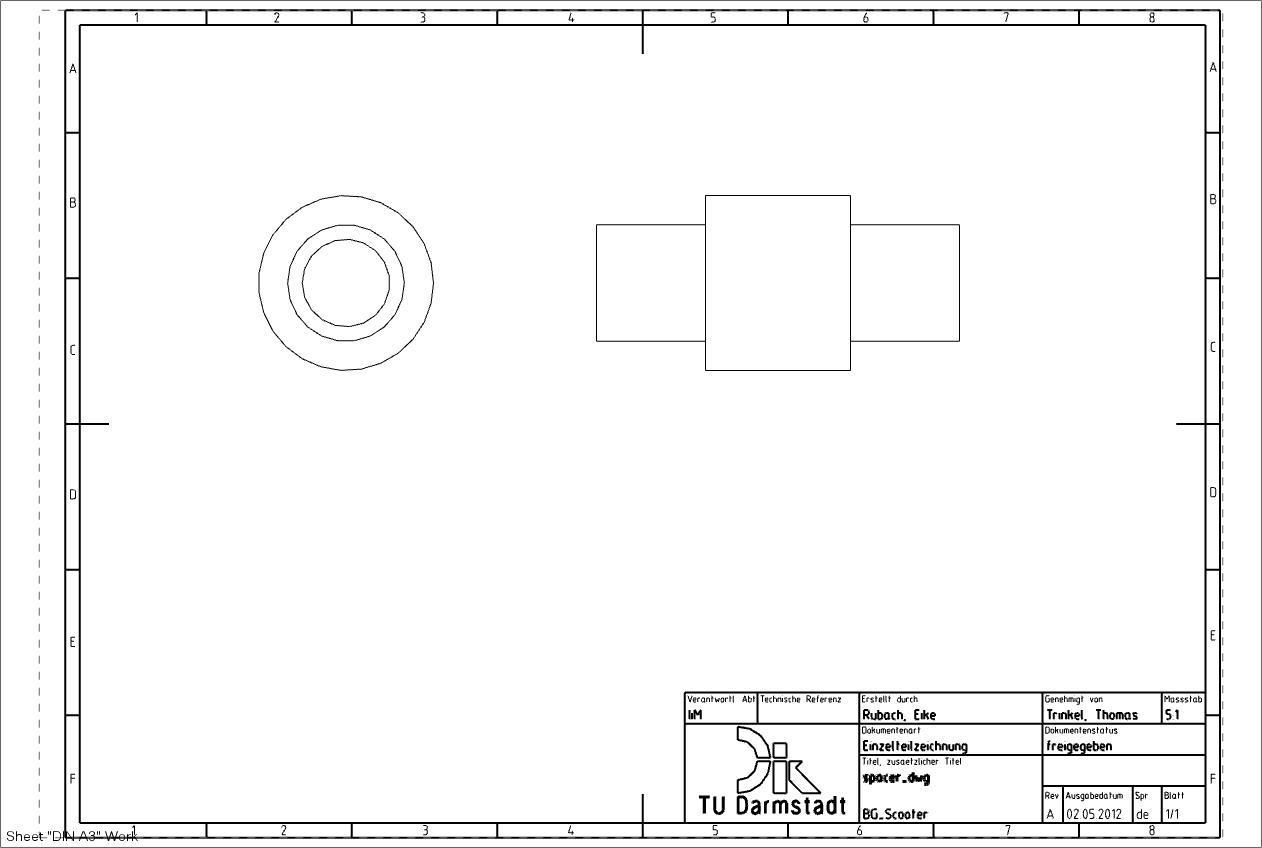 7.1.1.1. Zeichnung, Basisansicht und projizierte Ansicht erstellen